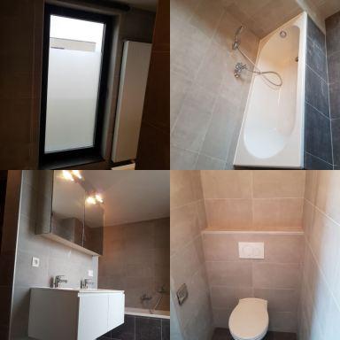 Badkamer renovatie Lummen