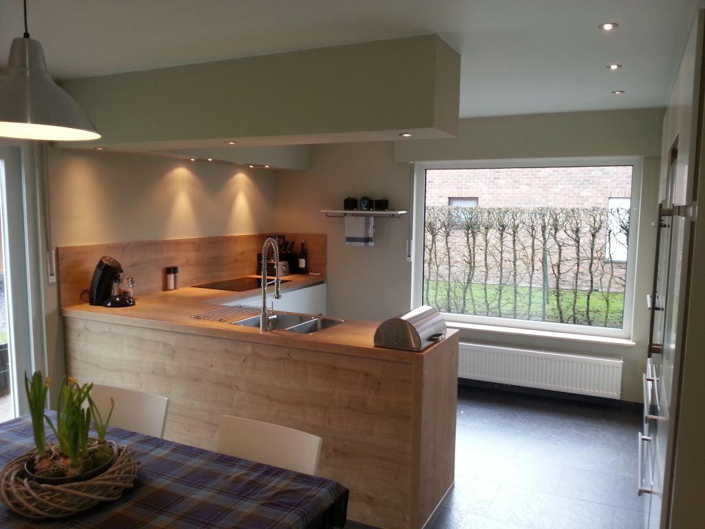 Keuken en Living renovatie Tessenderlo