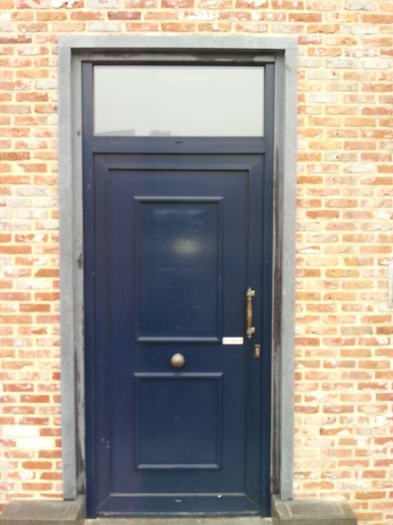Voordeur renovatie Koersel