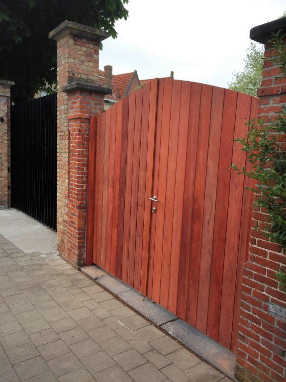 poort in Brugge in Padoek, uit eigen atelier