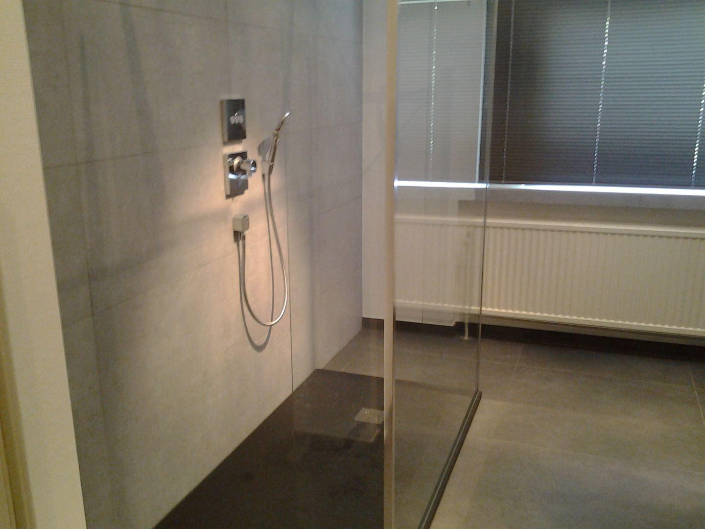 Inloopdouche Met Inbouwkraan : Badkamer renovatie neerijse de klussenier johan desmedt