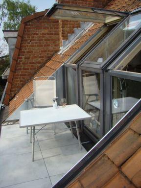 Velux balkon dakramen Ukkel