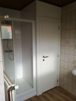 toilet en douche gerenoveerd in Scherpenheuvel
