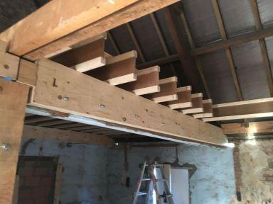 Renovatie zolderverdieping Puurs