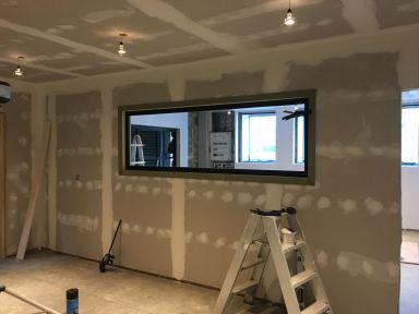 kantoor bouwen in magazijn