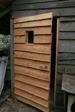 Nieuwe deur tuinberging   Massemen