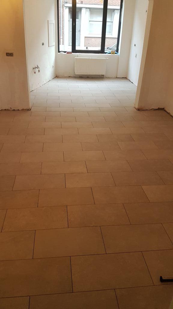 Nieuwe vloer Leuven