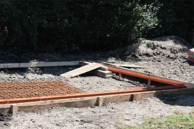 Gieten van beton
