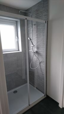 Tegelwerken en plaatsing douche Alsemberg
