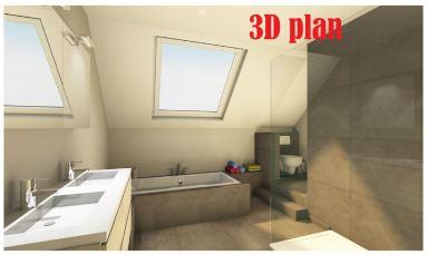3D afbeelding voor uitvoering
