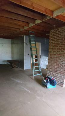 Renovatie zolder begin