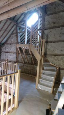 Doorgang plaatsing trap 2
