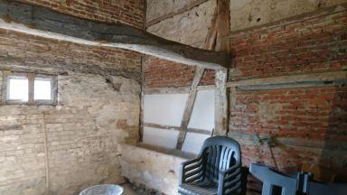 Zolderrenovatie in oude hoeve van 1775