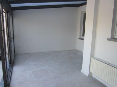 Tegelen en Gyproc veranda