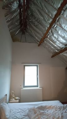 slaapkamer nog vals plafond plaatsen