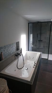 massagebad en douche