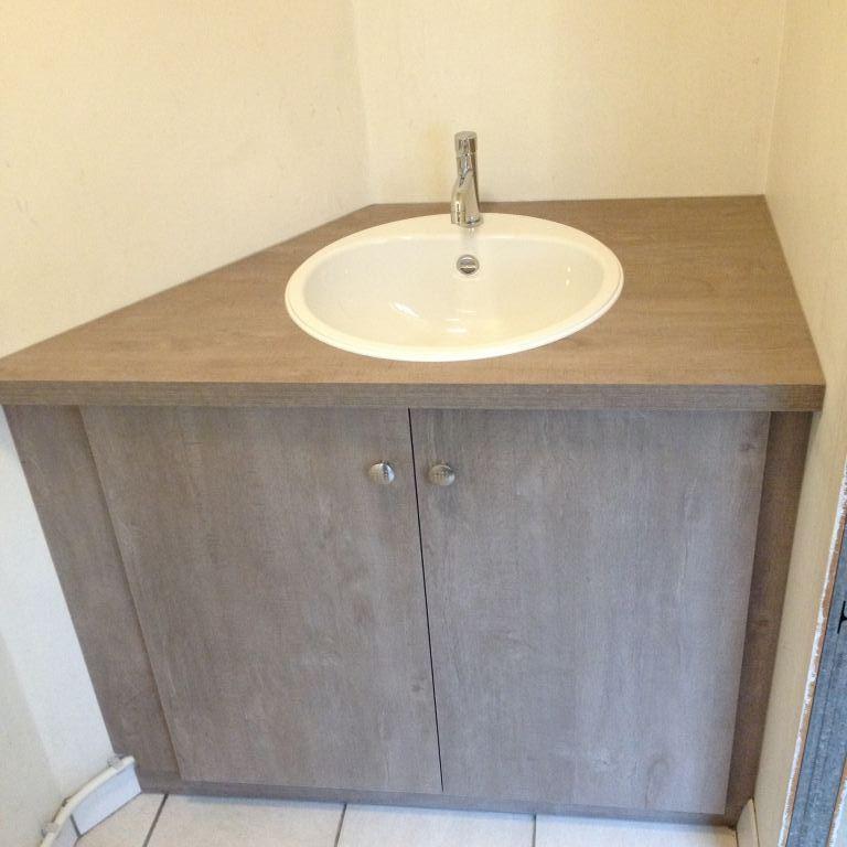 Maatwerk kast in toilet Werchter