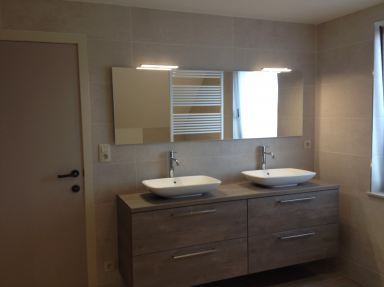 badkamer renovatie in Tremelo
