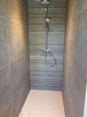 Renovatie badkamer douche Heusden-Zolder