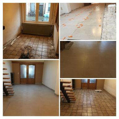 Vloer- en tegelwerken Mechelen