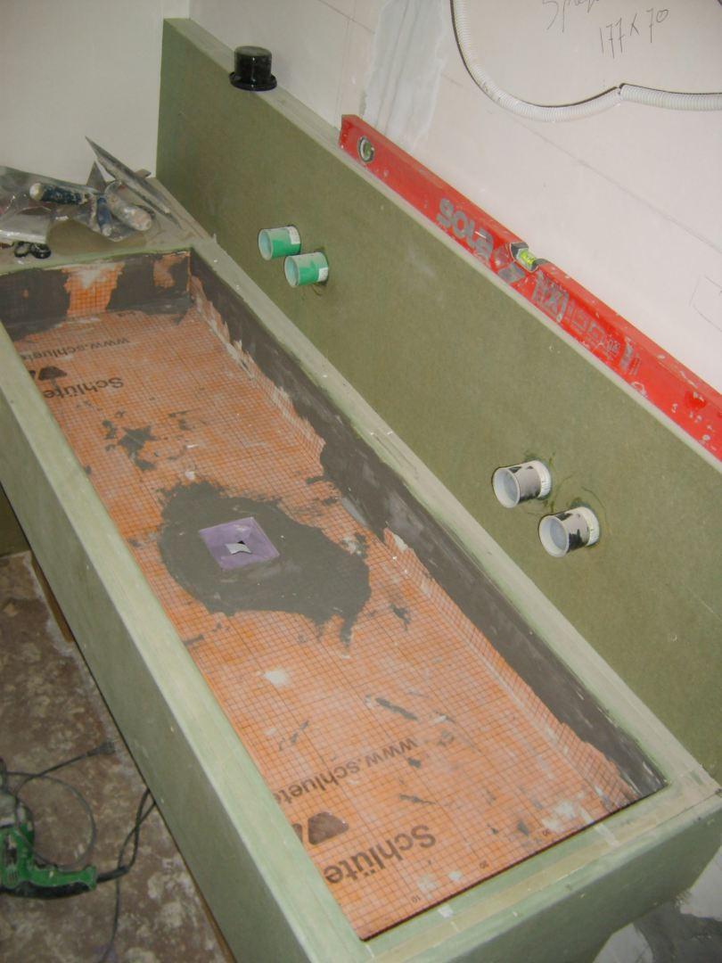 Vaak Badkamerrenovatie met Stoopen en Meeüs Stuc Deco in Diepenbeek RO52
