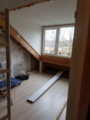 Zolderverbouwing Breda (voor werkzaamheden)