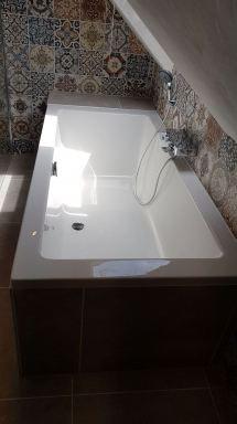 Nieuwe badkamer s'Gravemoer