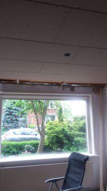 Renovatie plafond kamer