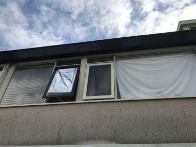 Vervangen verrote raam Leeuwarden