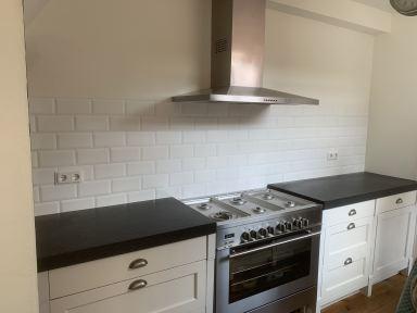 Tegelwerk keuken in Leeuwarden
