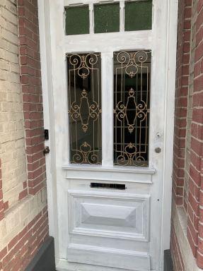 Renovatie voordeur