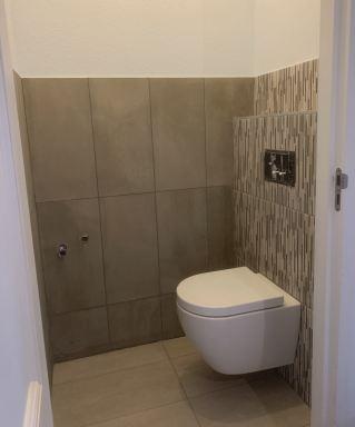 Renovatie toilet en douche Leeuwarden