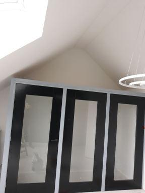 Trapopgang zolder aftimmer na wens klant, Nijmegen