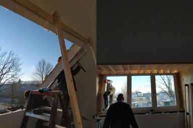 Dakkapel plaatsen in bestaand dak Doetinchem