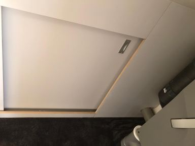 Schuifwanden opbergruimte op zolder in Wehl