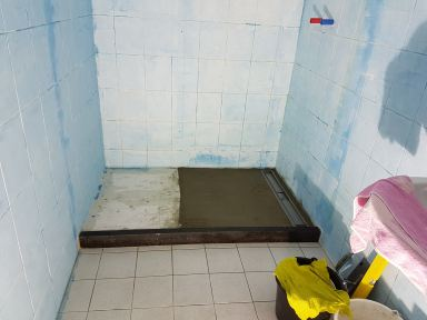Verbouwing badkamer Helmond inloopdouche