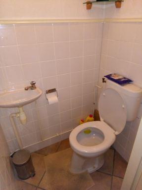 Verbouwing toilet Oirschot totaaloverzicht oud