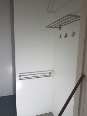 Verbouwing badkamer en toilet ( natte groep ) in Boxtel inloopdouche