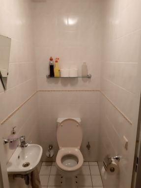 Verbouwing toilet Best oude situatie