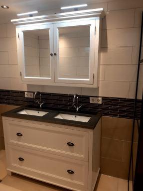 Badkamer verbouwing Stille Wille