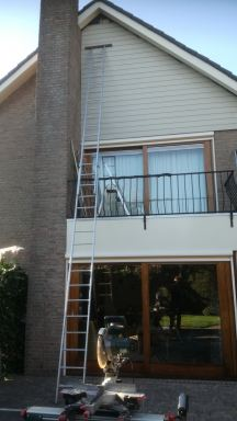 Gevel bekleding composiet in Gerwen