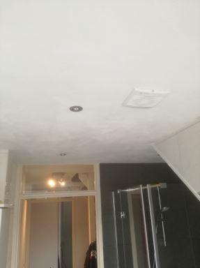 plafond badkamer vervangen Eindhoven