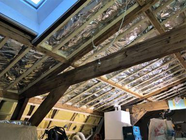 Isolatie in de vloer, wanden en plafond velp