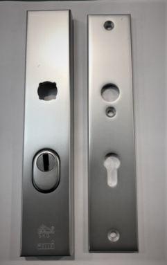 Hang en sluitwerk, veiligheidsbeslag achterdeur, politie keurmerk, SKG3***  Kerntrekbeveiliging