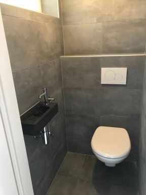 Toilet renovatie Apeldoorn.