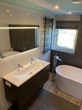 Badkamer renovatie Apeldoorn