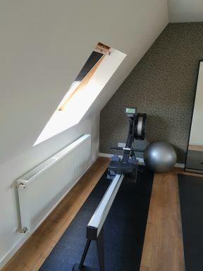 Verbouwing zolder tot fitnessruimte Schiedam