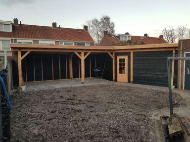 Douglas veranda/ overkapping Losser