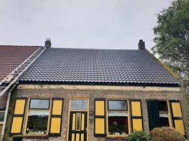 Dak renovatie met nieuwe pannen Oudenbosch