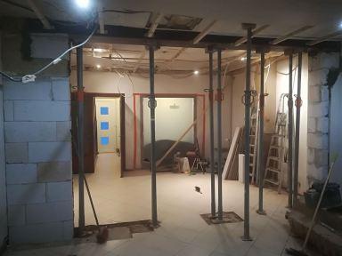 Renovatie woonkamer Mol - Stutbalk geplaatst